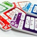 世界首台推向市场的盲文手机
