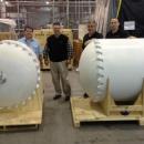 3D打印技术制造卫星大型油箱模型